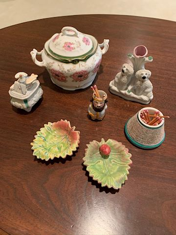 Porceline and China decor