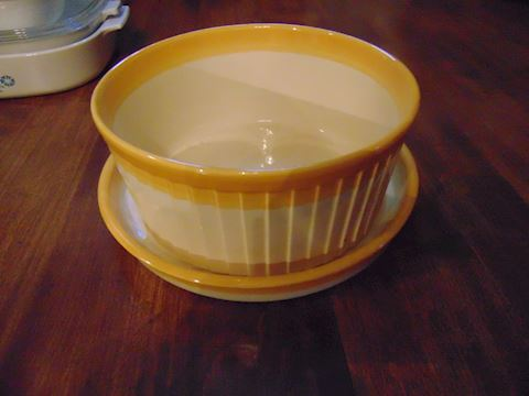 Crepe Pan and Mixing Bowl