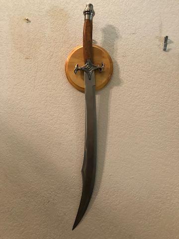 Scorpion King Arab Scimitar Sword Shamshir