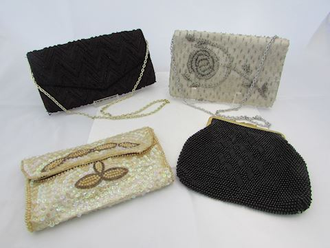 Vintage Beaded & Sequin Evening Purses