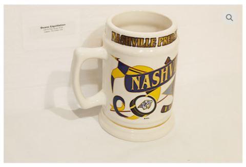 Nashville Predators Hockey Mug NHL Official Logo
