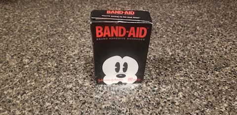 1 Box Mickey Mouse Band-Aids 20 Adhesive Bandages