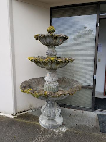 Concrete Yard Fountain