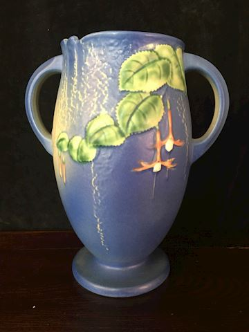 "Roseville Art Pottery 842-6 10.5"" Tall Vase"