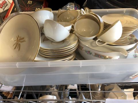 Noritake The Luzon and Lenox Gold Wheat Lot 12