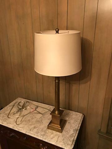 BD1  105  Brass Lamp
