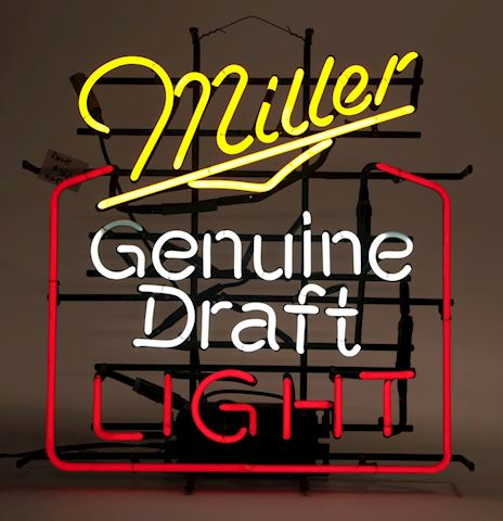Miller Genuine Draft MGD Light neon Works
