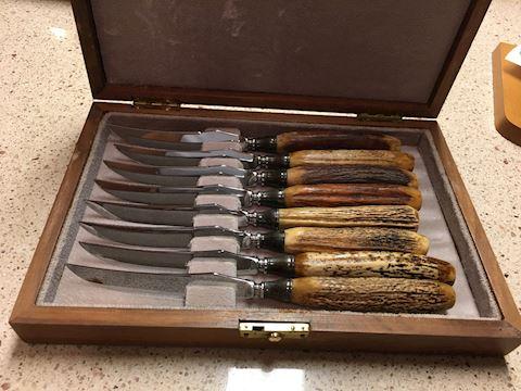Vintage Hasselbring knives