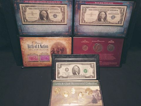 Coin and Currency Collection