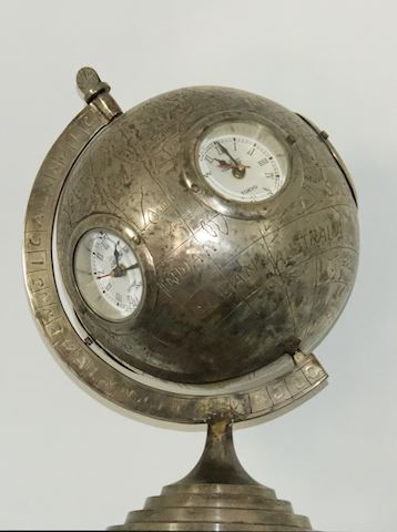 Table Clock - Five Time Zones