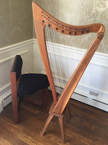 Dusty Strings Hand Crafted Harp