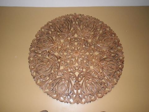 Round Wood Carving