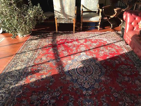 Iranian Rug 9x12 vintage