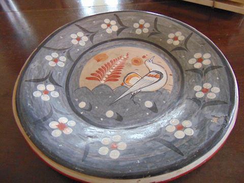 Russian Earthenware Plate
