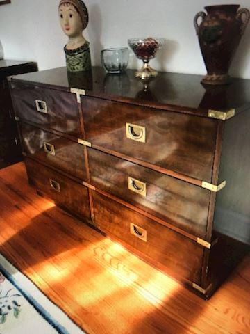 Double Dresser from Drexel Heritage and end table