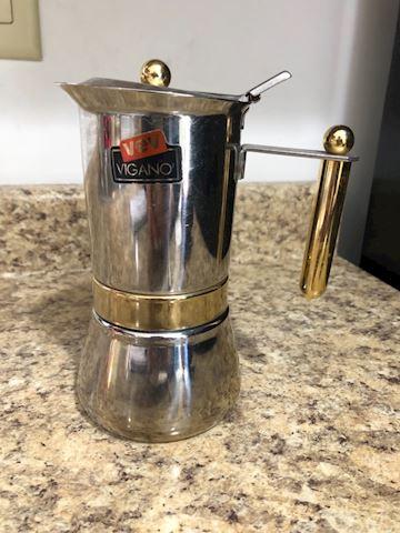 VEV Vigano Italian Stovetop Espresso maker