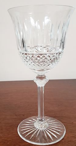 TOMMY BY ST. LOUIS CRYSTAL WATER GOBLET 7-3/4""