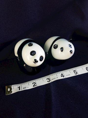 Set of 2 Flume Pandas