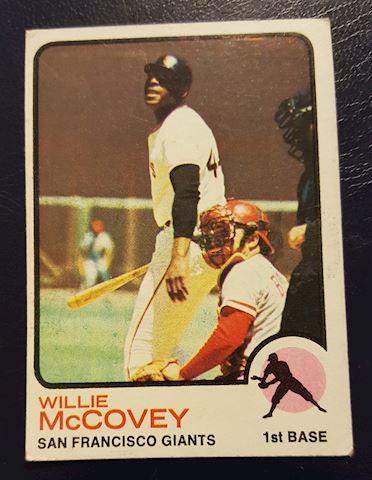1973 Willie McCovey Baseball Card #410