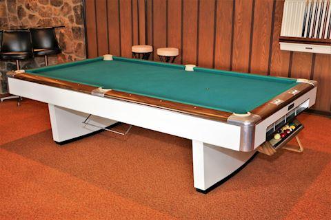 Macon Billiard Supply Co Modern Style Pool Table