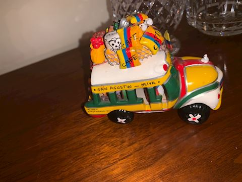 5 pieces decor including Indian