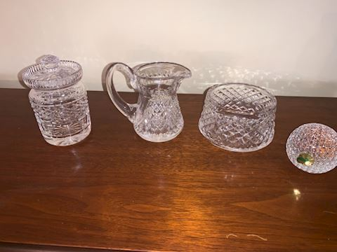 4 pieces Waterford crystal