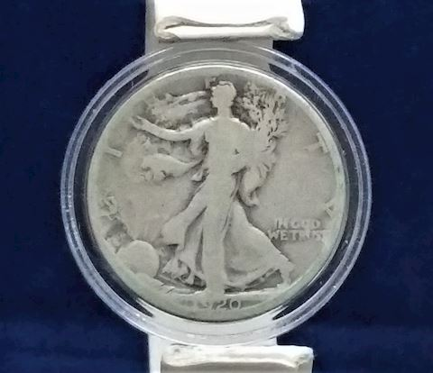 1920 Walking Half Dollar