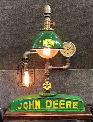 John Deere Sculpture Light