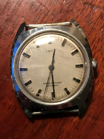 Vintage TIMEX watch (NO BAND)