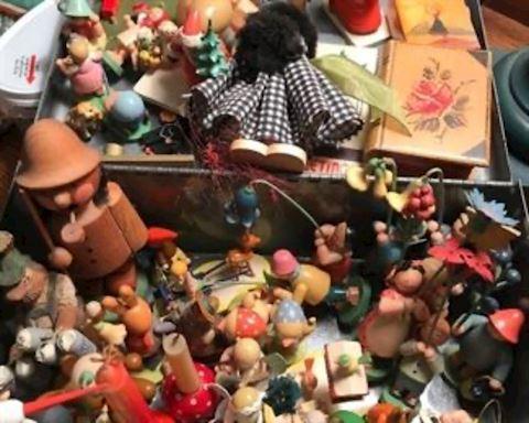 East German wooden figures
