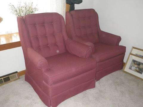 Pair of La-Z-Boy Chairs
