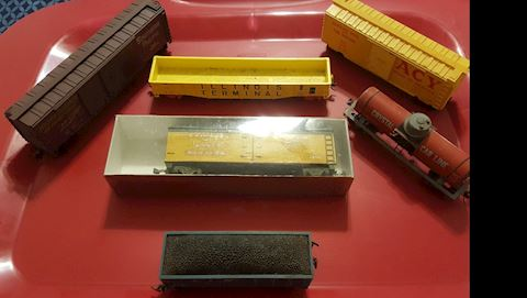Estate Collection of Vintage Railroad Trains
