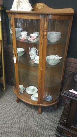 Vintage Display Cabinet - #3376