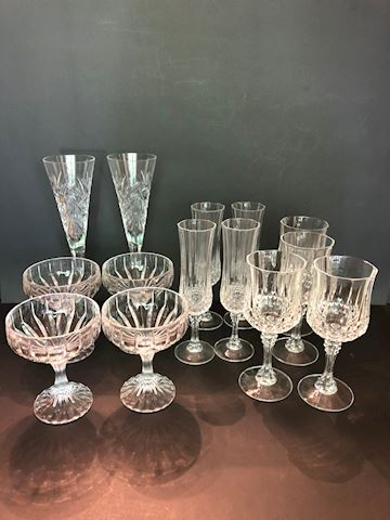 Collection of Drinking Glassware