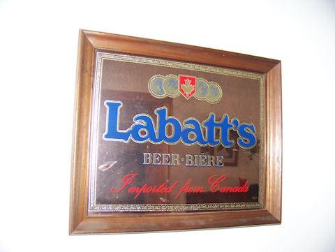 Labatt's Mirror