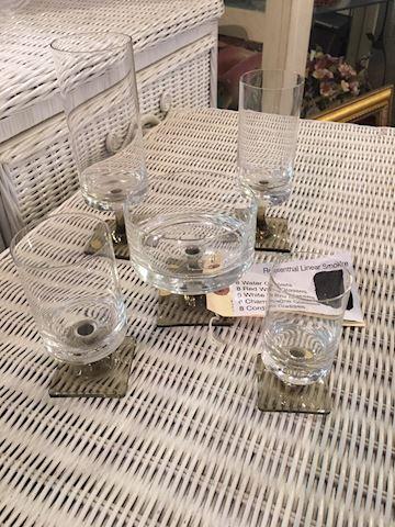 Rosenthal Linear Smoke Glassware