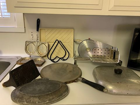 Bacon Press, meat slicer, griddle and more