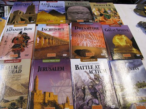 Items 40-52 in the DVD Series of the Ancient World