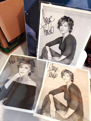 Jane Fonda Autograph