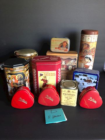 Collection of Tins Lot D