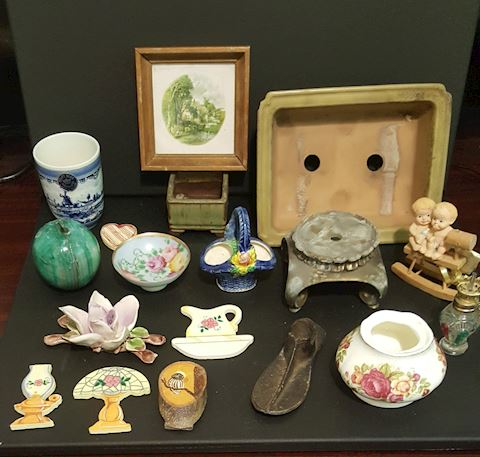 Lot of Vintage Antiques & Collectables