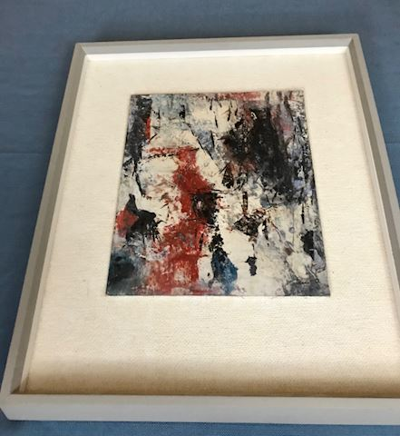 Abstract Oil Original Artist Unknown