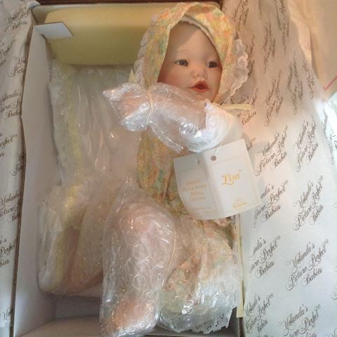 LISA Porcelain Doll By Knowles YOLANDER'S