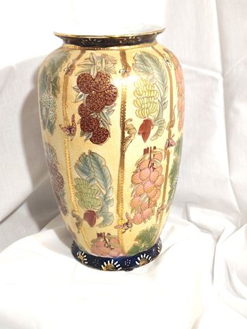 Antique Chinese Vase Hand Painted