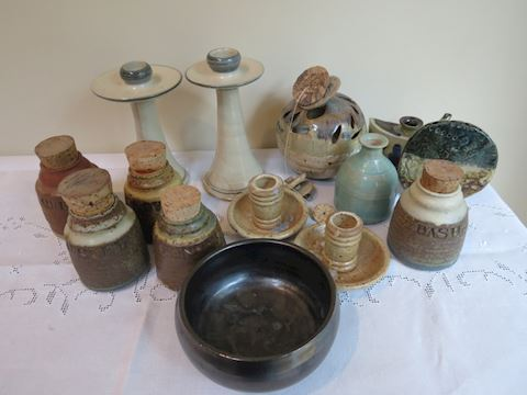 (14) Pieces of Mid-Century and Newer Pottery
