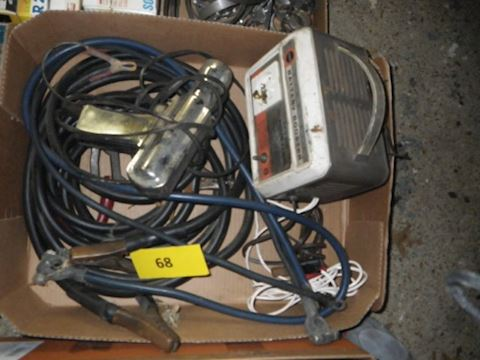 Lot #68 - Jumper Cables and More (Garage)