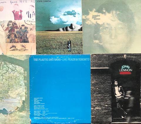 6 John Lennon Albums