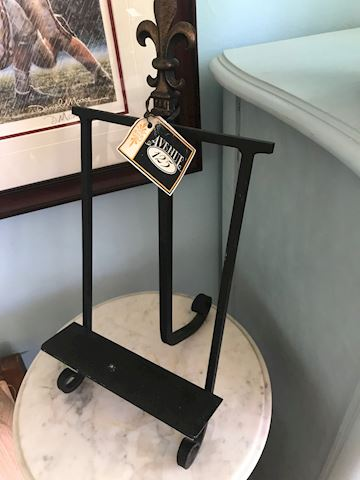 Large Rod Iron Cookbook Easel