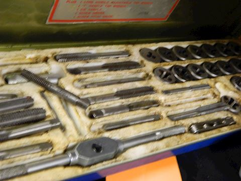 Tap and Die Set - Few Parts Missing