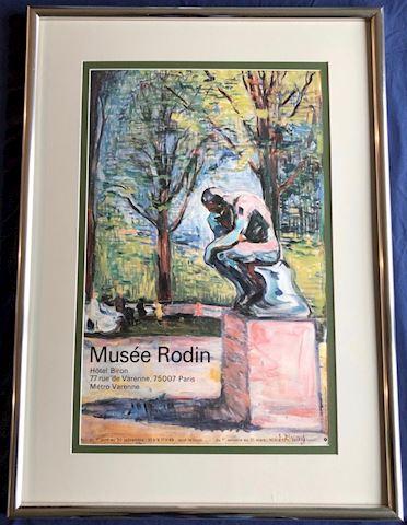 Framed Print. Musee Rodin